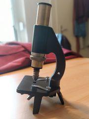 Altes Exkursionsmikroskop Winkel-Zeiss
