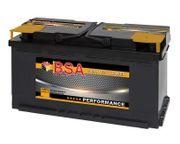 BSA Autobatterie 100Ah 12V