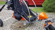 Motorschirmm-Trike CONDOR -Doppelsitzerr inkl Gleitschirm