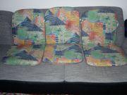 3 Sitzauflagen für Gartenstühle
