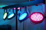 Lichttechnik Floorspots Ambientebeleuchtung zu vermieten