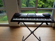 Keyboard Casio incl Tasche Ständer