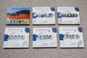 Verkaufe 6 Silber Gedenkmünzen-Sets 10