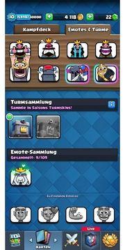 Clash Royale 98 98 Karten