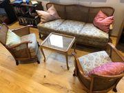 Wunderschöne Vintage Chippendale Sitzgruppe
