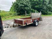 PKW-Anhänger 1600kg mit Auffahrrampe und