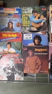 Single Schallplatten Deutscher Schlager