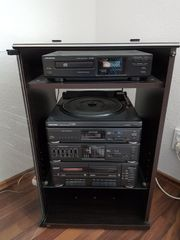 Stereoanlage von Grundig mit Rack