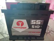 Verkaufe neue Autobatterie