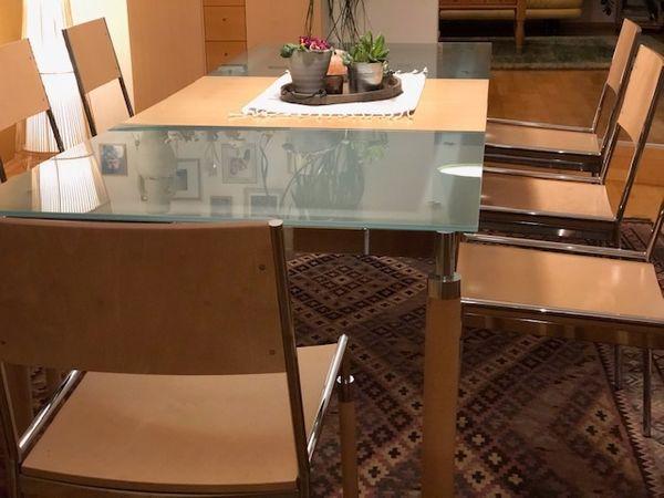 esszimmer tisch st hle und sideboard in lauterach. Black Bedroom Furniture Sets. Home Design Ideas