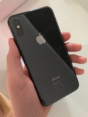 iPhone X Spacegray mit OVP