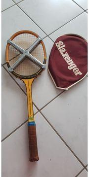 Retro Vintage Erbacher Holz Tennisschläger