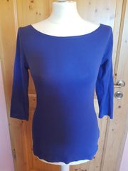 Oberteil Shirt Blau Gr 36
