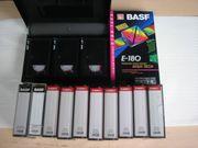 neue VHS Videokassetten