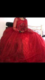 Verlobungs Hochzeitskleid