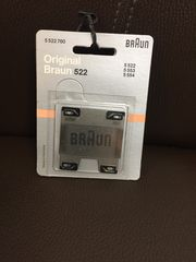 Original Braun 522 neu Scherblat