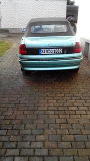 Opel Astra F Cabrio Teile