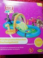 Kinder Planschbecken Dschungelwelt - Neu OVP -