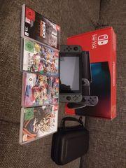 Nintendo Switch inkl 4 Spiele