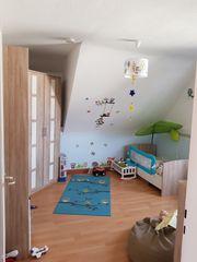 Kinderzimmer Babyzimmer komplett Eckschrank Bett