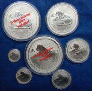 Lunar II Tiger Silber 2010