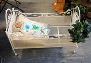 Kinderbett Jugendstil