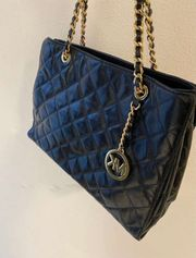 Michael Kors Susannah quilted leather