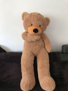 Sonstiges Kinderspielzeug - XXL Teddybär hellbraun