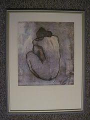 Pablo Picasso blauer akt Kunstdruck