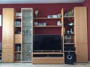 Qualitativ und gut erhaltene Wohnzimmer Anbauwand