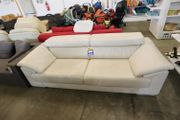 Sofa Couch 2Sitzer hell 230lang -