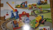 Duplo Eisenbahn und Schienenzusatzset