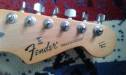 fender gitarre Made in Mexico