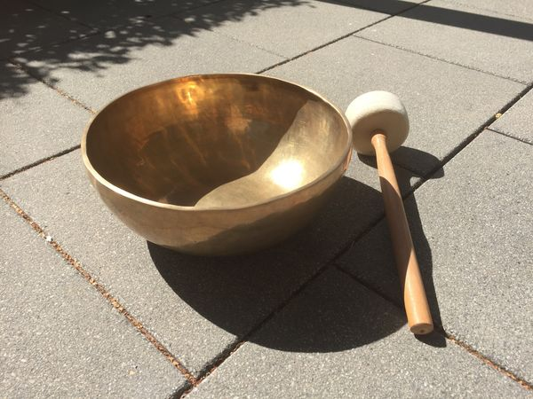 Klangschale - Singing Bowl groß