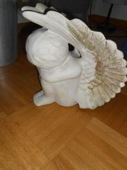 Deko - schlafender Engel aus Stein