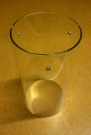 Glaszylinder - Lampenschirm