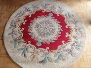 Teppich handgeknüpft rund - Durchmesser 1