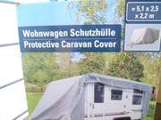 Neue Wohnwagenschutzhülle