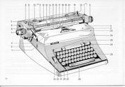 Büroschreibmaschine Adler Universal 200
