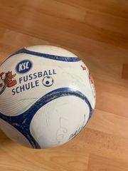 KSC Fußball Schule Ball mit