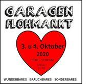 Garagenflohmarkt 3 und 4 Oktober