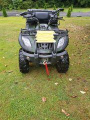 Neuwertige Lonzin 250ccm ATV quad
