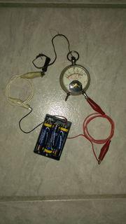 Taschenvoltmeter Radio-Voltmeter Amperemeter Meßgerät