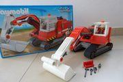 Playmobil Kettenbagger 5282 vollständig in