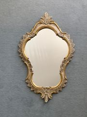 Wandspiegel handgeschnitzt 23 karat vergoldet