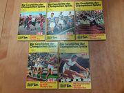 AGIP-Broschüren Die Geschiche der Olympischen