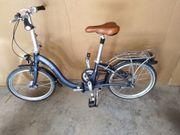 Zwei Falträder zu verkaufen Marke