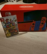 NINTENDO SWITCH MARIO EDITION NEU
