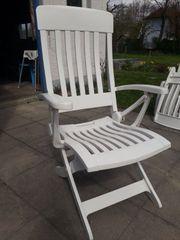 Gartenstühle mit ohne Polster