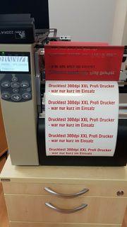 Zebra 220Xi4 300dpi Etikettendrucker Thermotransfer